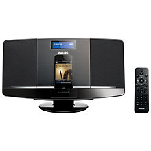 Buy Philips DCB2070 DAB/FM Micro System with iPad/iPod/iPhone Dock, Black Online at johnlewis.com
