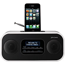 Buy John Lewis Apollo II DAB/FM iPod Dock Online at johnlewis.com