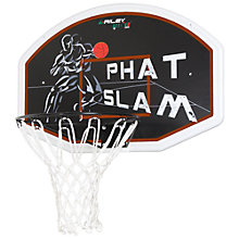 Buy Phat Slam Deluxe Basketball Backboard, Hoop and Net Online at johnlewis.com