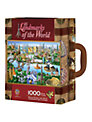 Masterpieces Landmarks of the World Suitcase Jigsaw Puzzle