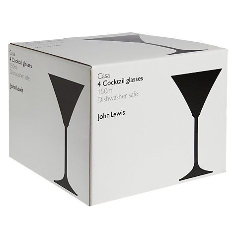 Buy John Lewis Casa Cocktail Glasses, Set of 4 Online at johnlewis.com