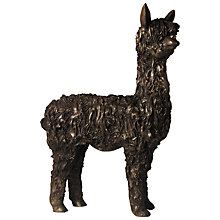 Buy Frith Sculpture Alpaca Standing, By Veronica Ballan Online at johnlewis.com