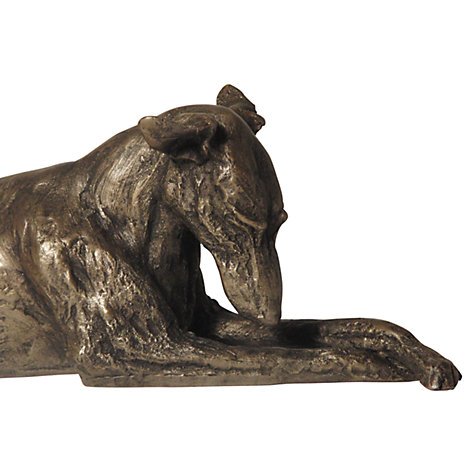 Buy Frith Sculpture Chester Lurcher Thinking, By Harriet Dunn Online at johnlewis.com