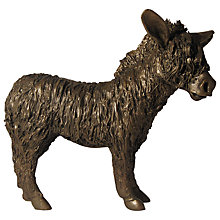 Buy Frith Sculpture Donkey Standing, By Veronica Ballan Online at johnlewis.com