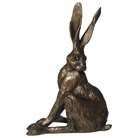 Buy Frith Sculpture Hare Alert, by Paul Jenkins Online at johnlewis.com