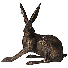 Buy Frith Sculpture Hare Crouching, by Paul Jenkins Online at johnlewis.com