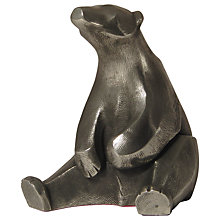 Buy Frith Sculpture Polar Bear Sitting, by Adrian Tinsley Online at johnlewis.com