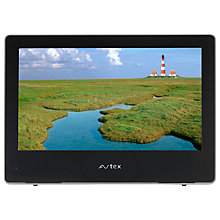 "Buy Avtex W164DRS LCD HD 720p TV/DVD Combi, 16"" with Freeview/Free to Air Satellite, Black Online at johnlewis.com"