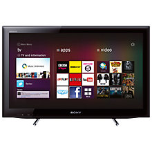 Buy Sony Bravia KDL22EX553 LED HD 720p Smart TV, 22 Inch with Freeview HD, Black Online at johnlewis.com