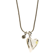Buy John Lewis Swarovski Crystal Wild Heart Necklace Online at johnlewis.com