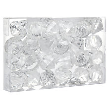Buy John Lewis Acrylic Jewel Decoration Pack, x24 Online at johnlewis.com