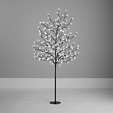 Buy John Lewis Outdoor Pre-lit Blossom Christmas Tree, 5ft Online at johnlewis.com