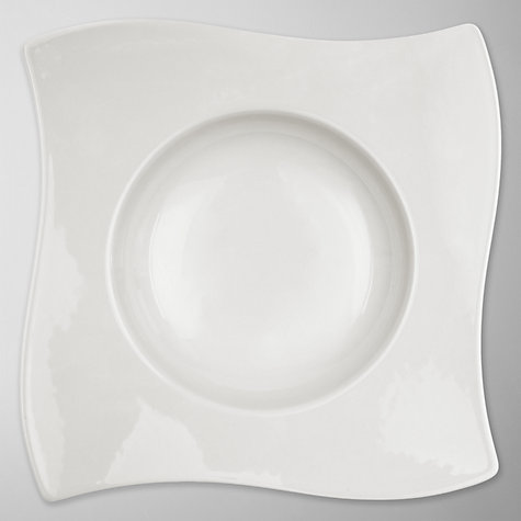 Buy Villeroy & Boch New Wave Deep Plate, Dia.24cm Online at johnlewis.com