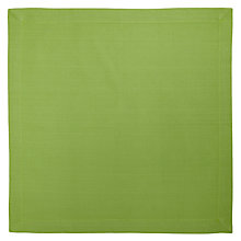 Buy House by John Lewis Napkins, Set of 4, Green Online at johnlewis.com
