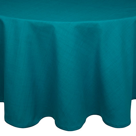 Buy House by John Lewis Round Tablecloth, Dia.180cm Online at johnlewis.com