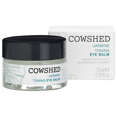 Buy Cowshed Jasmine Toning Eye Balm, 15ml Online at johnlewis.com