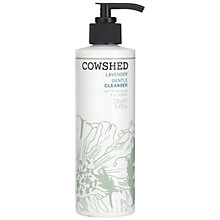 Buy Cowshed Lavender Gentle Cleanser, 250ml Online at johnlewis.com