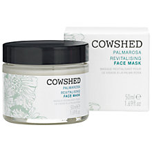 Buy Cowshed Palmarosa Revitalising Face Mask, 50ml Online at johnlewis.com