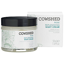 Buy Cowshed Rose Replenishing Night Cream, 50ml Online at johnlewis.com