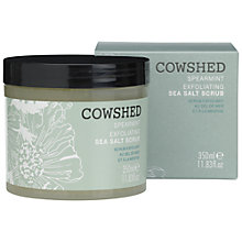 Buy Cowshed Spearmint Exfoliating Sea Salt Scrub, 350ml Online at johnlewis.com
