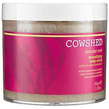 Buy Cowshed Slender Cow Detoxifying Scrub, 350g Online at johnlewis.com