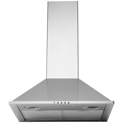 Buy John Lewis JLBIHD601 Chimney Cooker Hood, Stainless Steel Online at johnlewis.com