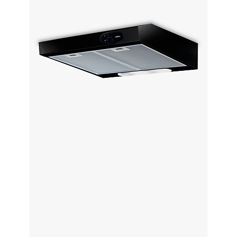 Buy Elica Krea Cooker Hood, Black Online at johnlewis.com
