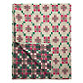 Buy Melin Tregwynt St David's Cross Throw, Geranium Online at johnlewis.com