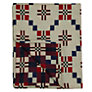 Buy Melin Tregwynt St David's Cross Throw, Red Online at johnlewis.com
