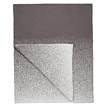 Buy John Lewis Ombre Knit Throw, Grey Online at johnlewis.com