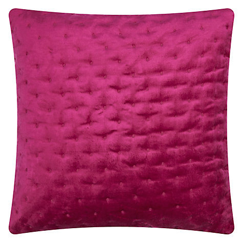 Buy Ted Baker Velvet Cushion Online at johnlewis.com