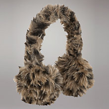 Buy John Lewis Girl Faux Fur Ear Muffs, Leopard Online at johnlewis.com