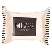 Buy TOPSHOP Facial Wipes Online at johnlewis.com