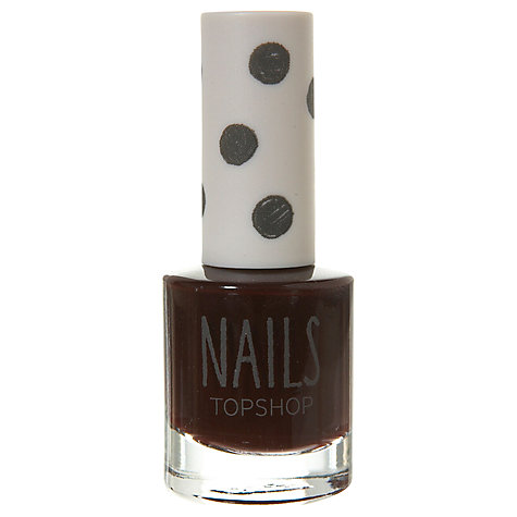 Buy TOPSHOP Nails - Dark Online at johnlewis.com