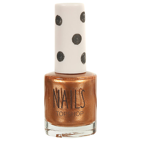 Buy TOPSHOP Nails - Metallic Finish Online at johnlewis.com
