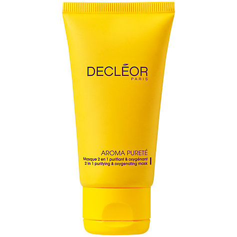 Buy Decléor Aroma Pureté 2 in 1 Purifying and Oxygenating Mask, 50ml Online at johnlewis.com