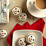 Buy Image on Food Iced Snowman Cookies Bag, 190g Online at johnlewis.com