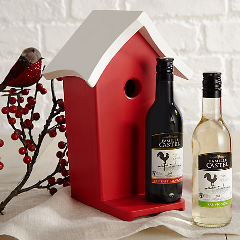 Buy Bobby Robin Bird House and Wine Set Online at johnlewis.com