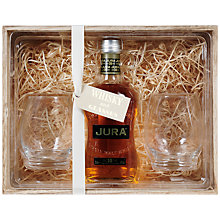 Buy Jura Malt Whisky and Whisky Glasses Set, 35cl Online at johnlewis.com