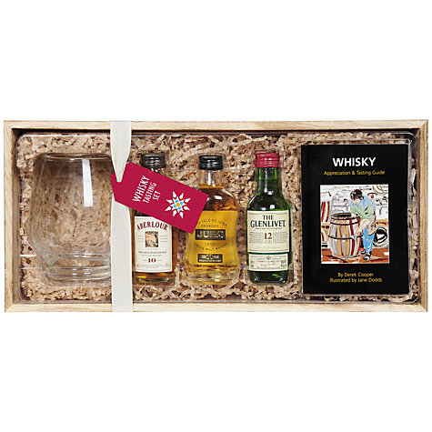 Buy Whisky Tasting Set with Whisky Glass, 3 x 5cl Online at johnlewis.com