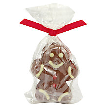 Buy Natalie Chocolates 4 Gingerbread Men, 40g Online at johnlewis.com