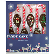 Buy Gourmet Candy Chocolate Dipped Candy Canes, 102g Online at johnlewis.com