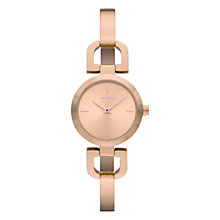 Buy DKNY Women's D-Ring Slender Bangle Watch Online at johnlewis.com