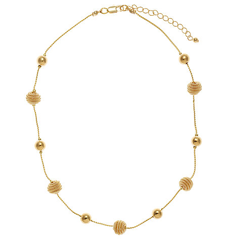 Buy John Lewis Coil and Bead Short Necklace Online at johnlewis.com