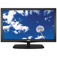 Buy Haier LET26T1000F LED HD 720p TV, 26 Inch with Freeview Online at johnlewis.com