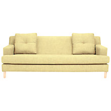 Buy House by John Lewis Alex Large Sofa, Olive / Light Leg Online at johnlewis.com