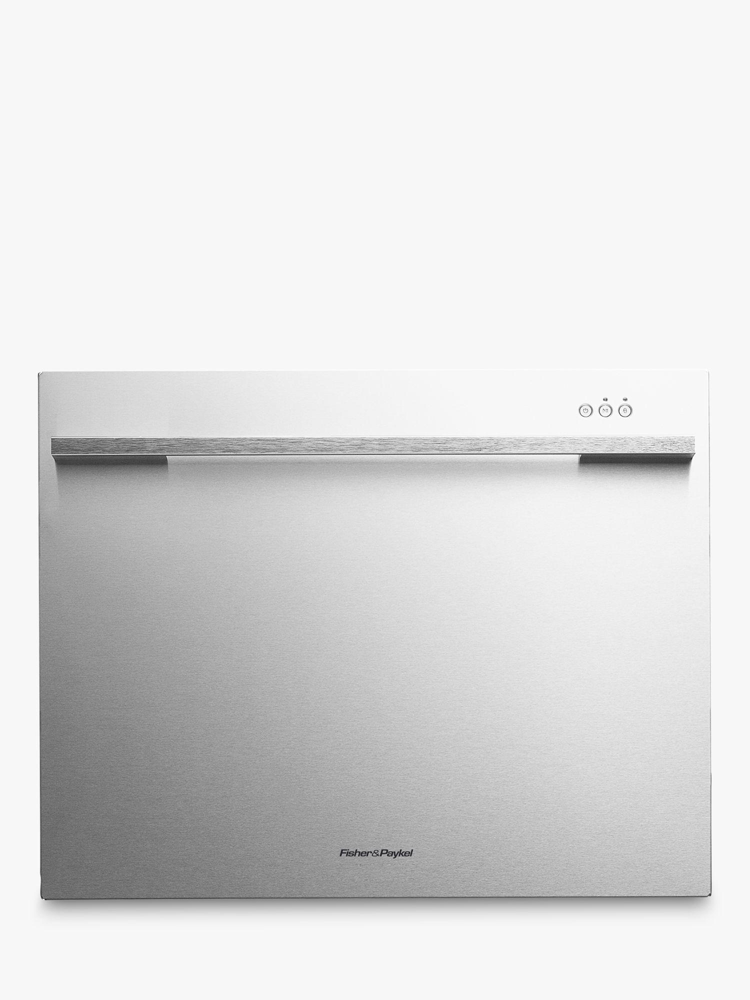 Fisher & Paykel Fisher & Paykel DD60SDFHTX7 Designer Built-in Single DishDrawer Dishwasher, Stainless Steel