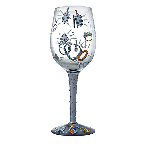 Buy Lolita Girl's Best Friend Wine Glass Online at johnlewis.com