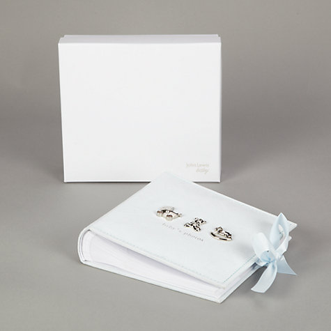 Buy John Lewis Photograph Album, Blue Online at johnlewis.com
