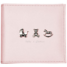 Buy John Lewis Photograph Album, Pink Online at johnlewis.com